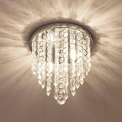 Lifeholder Mini Chandelier, Crystal Chandelier Lighting, 2 Lights For 2017 Small Hallway Chandeliers (View 9 of 10)
