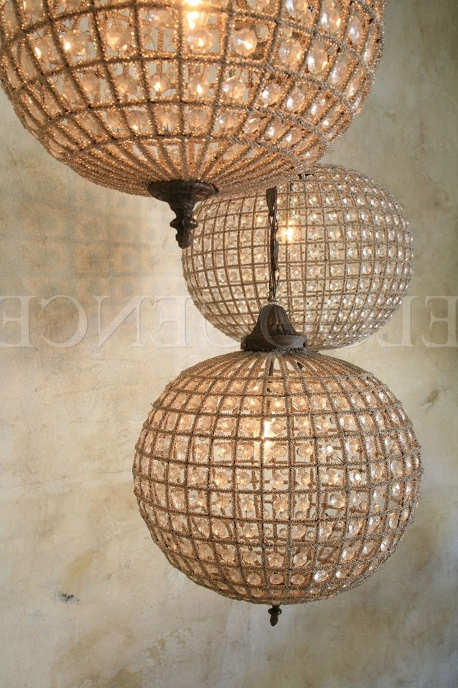 Lighting – Chandeliers – Eloquence Medium Globe Chandelier – Cottage Inside Well Known Eloquence Globe Chandelier (View 5 of 10)