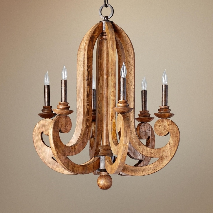 Lighting: Dazzling Wooden Chandeliers For Home Accessories Ideas Throughout Famous Wooden Chandeliers (View 4 of 10)