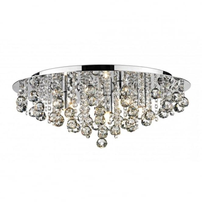 Lighting Inside Chandeliers For Low Ceilings (View 8 of 10)