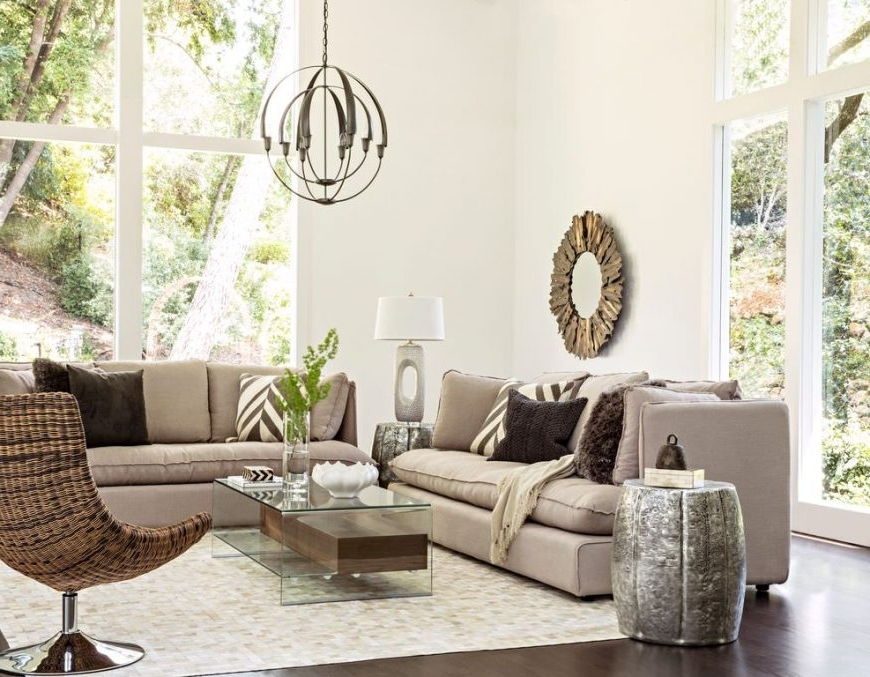 Living Room Chandeliers With Trendy 60+ Living Rooms With Chandelier Lighting (View 6 of 10)