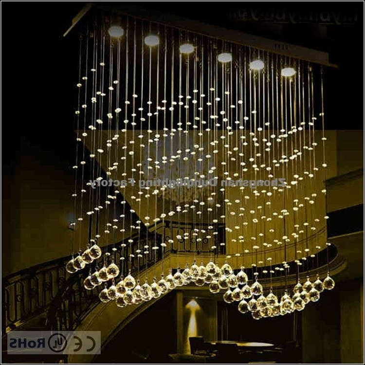 Long Chandelier Lighting Inside 2017 Modern Style Philippines Wire Long Crystal Chandelier Lamp – Buy (View 2 of 10)