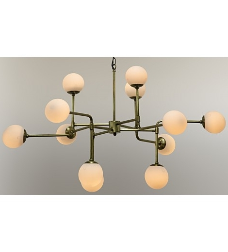 Lorraine Globe Chandelier, Gold – Ceiling – Lighting With Well Liked Chandelier Globe (View 7 of 10)