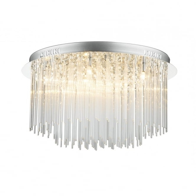 Low Ceiling Heights But Want A Chandelier Opt For A Modern Chandelier (View 3 of 10)