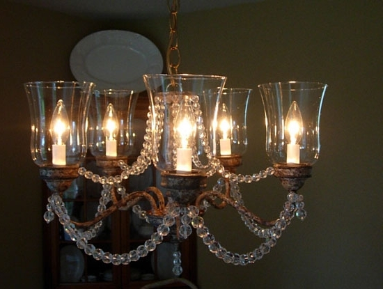 Magnificent Candle Look Chandelier Candle Style Chandeliers Hanging Pertaining To Recent Candle Look Chandeliers (View 4 of 10)