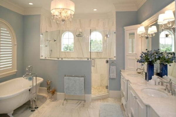 Mini Bathroom Chandeliers With Regard To Most Recent Decorating Your House With Small Chandeliers For Bathrooms De (View 7 of 10)