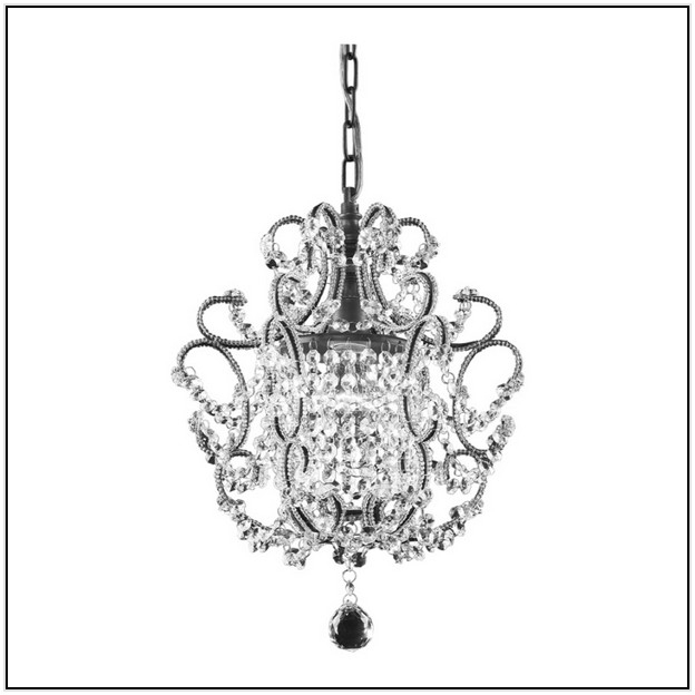 Mini Crystal Chandelier Lowes Home Design Ideas For Chandeliers Pertaining To Most Recent Mini Crystal Chandeliers (View 7 of 10)