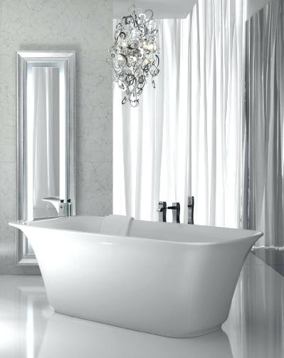Modern Bathroom Chandelier Lighting In Well Known Bathroom Chandelier Lighting Flush Fitting Bathroom Chandelier Light (View 9 of 10)