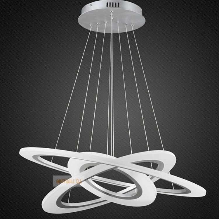 Modern Chrome Chandelier Crystals Diamon Led Modern Chandelier Regarding Famous Modern Light Chandelier (View 4 of 10)