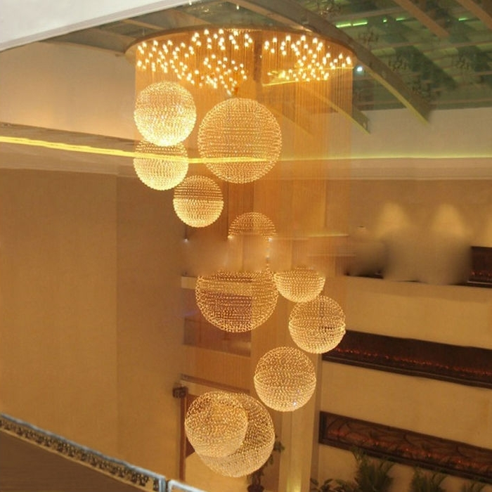 Modern Crystal Restaurant Chandelier Modern Living Room Curtain With Well Known Restaurant Chandelier (View 1 of 10)