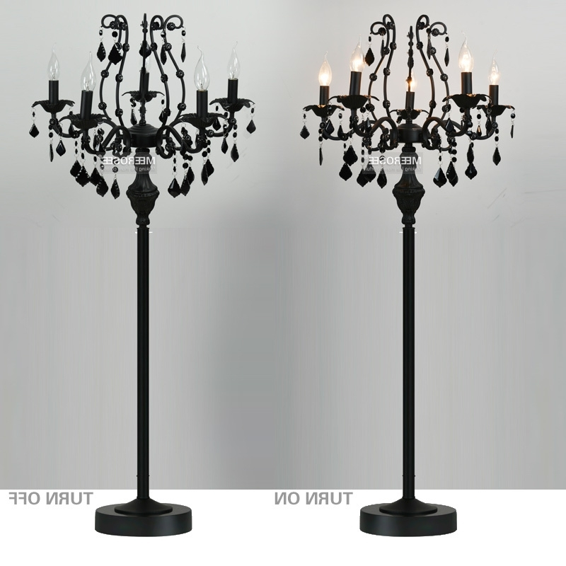 Featured Photo of Black Chandelier Standing Lamps