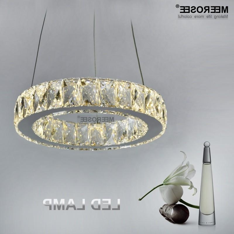 Modern Led 11 Watt Crystal Chandelier Lamp/light/lighting Fixture With Most Up To Date Short Chandelier (View 4 of 10)