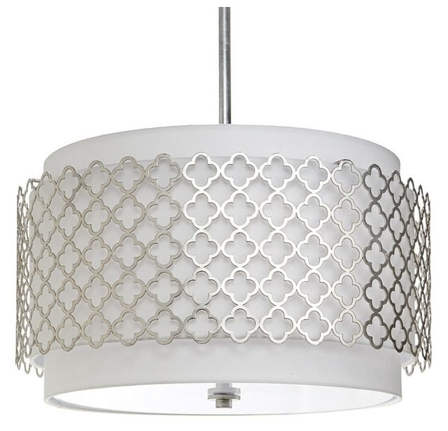 Modern Silver Chandelier Intended For Most Recently Released Regina Andrew Lighting Modern Luxe Silver Chandelier – Modern (View 4 of 10)