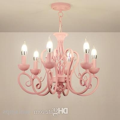 Modern Wrought Iron Pendant Chandeliers Vintage Chandelier Ceiling With Trendy Chandeliers Vintage (View 4 of 10)