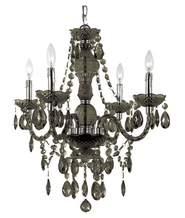 Most Current 4 Light Crystal Chandeliers Pertaining To Ice Palace 4 Light Crystal Chandelier & Reviews (View 7 of 10)