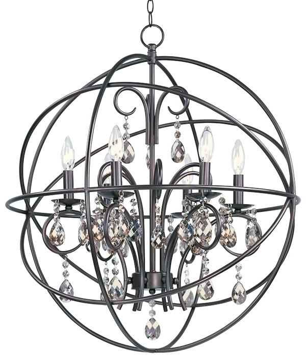 Most Current Cage Style Chandeliers Chandelier Glamorous Caged Chandelier Inside Caged Chandelier (View 10 of 10)