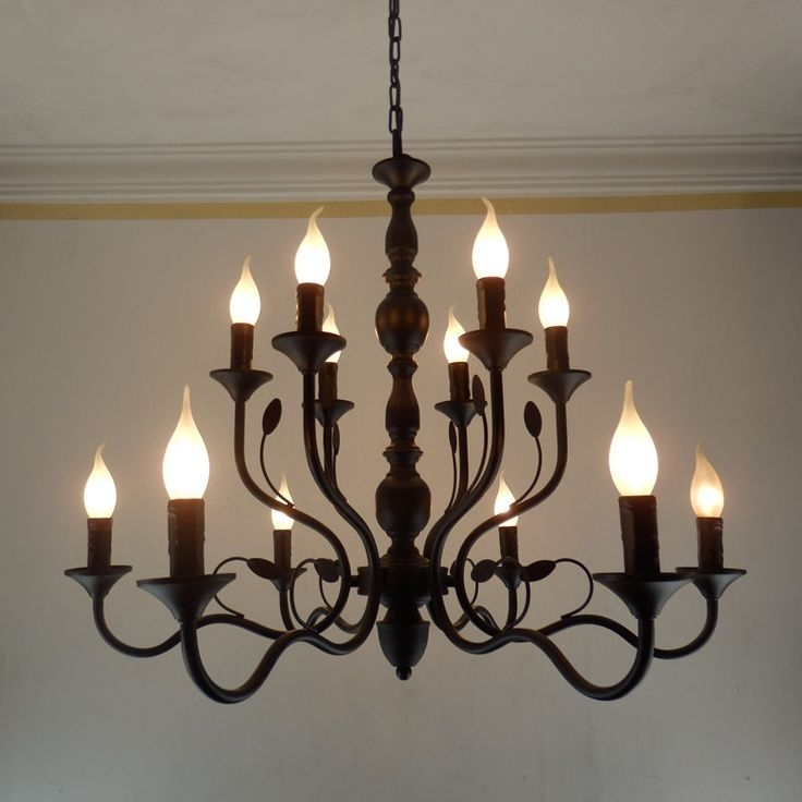 Most Current Large Iron Chandelier Metal – Closdurocnoir For Metal Chandeliers (View 6 of 10)