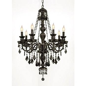 Featured Photo of Black Gothic Chandelier