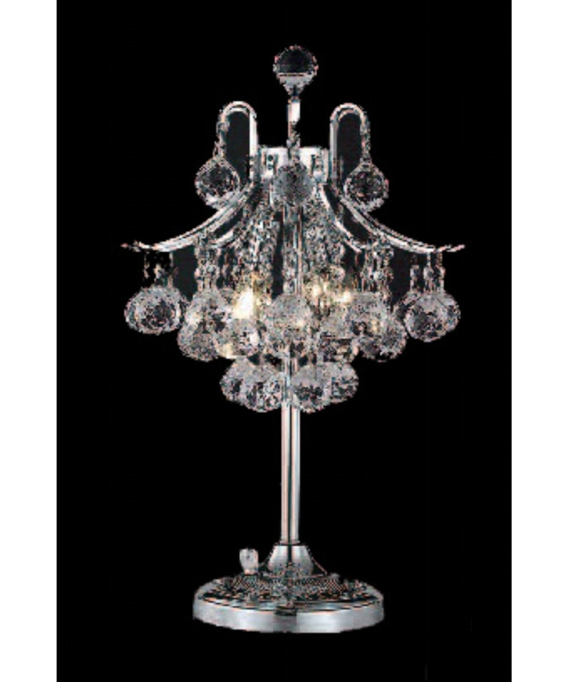 Crystal Chandelier Table Lamps: 2019 Best Of Small Crystal Chandelier Table Lamps