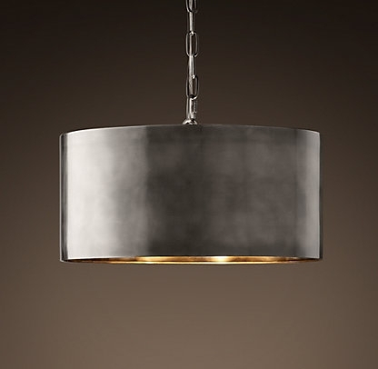 Most Current This Antique Metal Drum Pendant Light Would Look Perfect Above My With Metal Drum Chandeliers (View 7 of 10)