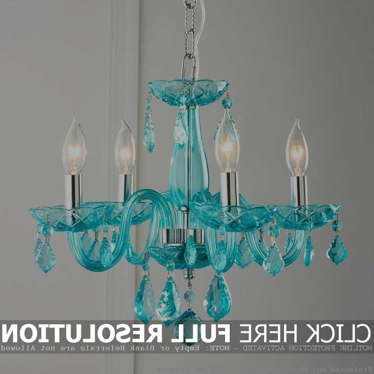 Featured Photo of Turquoise Ball Chandeliers