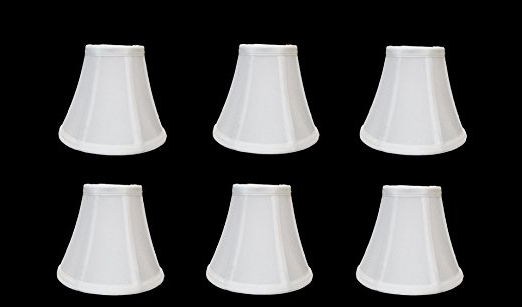 Most Current Urbanest 1100329C Chandelier Lamp Shades 6 Inch, Bell, Clip On In Chandelier Lamp Shades (View 5 of 10)