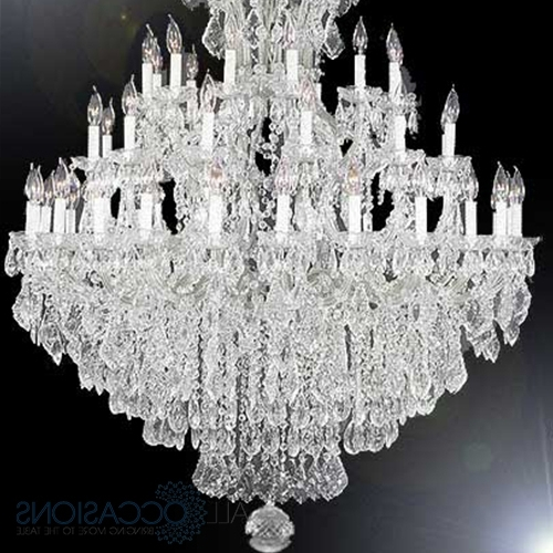 Most Popular 37 Light Extra Large Chandelier – All Occasions Party Rental Inside Extra Large Crystal Chandeliers (View 4 of 10)