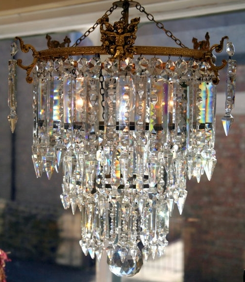 Most Popular An Edwardian Chandelier For The Living Room (View 6 of 10)