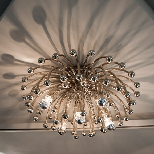 Most Popular Chandelier For Low Ceiling With Dramatic Lighting For Low Ceilings (View 7 of 10)