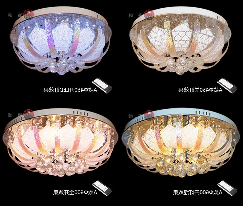 Most Popular Extraordinary Remote Control Chandeliers At Color Changing Led Throughout Remote Controlled Chandelier (View 3 of 10)