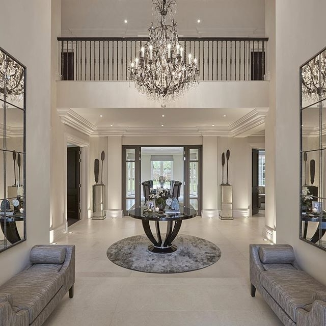 Most Popular Home Design : Engaging Entry Hall Chandeliers Hallway Chandelier In Hallway Chandeliers (View 7 of 10)