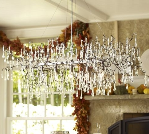 Most Popular What Do You Think Of This Chandelier? There Are Over 300 Glass Intended For Lucinda Branch Chandelier (Gallery 2 of 10)