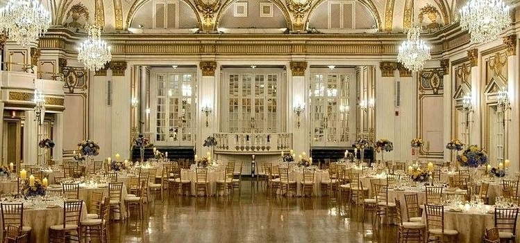 Most Recent Ballroom Chandeliers Pertaining To Ballroom Chandeliers S Hotel – Boscocafe (View 4 of 10)