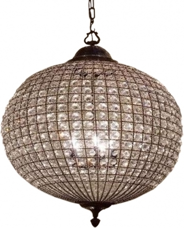 Most Recent Home Design : Excellent Crystal Globe Chandelier Ball Pendant Light Within Globe Crystal Chandelier (View 8 of 10)