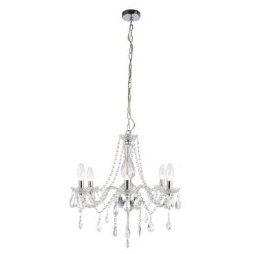 Most Recently Released Bathroom Safe Chandeliers Pertaining To Bathroom Lights, Bathroom Mirrors And Chandeliers All Ip44 Zone I Safe (View 7 of 10)
