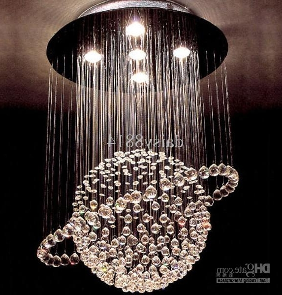 Most Recently Released Hot Sales Modern Style Crystal Ball Chandelier Led Lights Dia500 For Chandelier Lights (View 8 of 10)