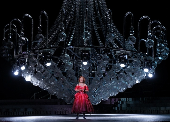 Most Recently Released Massive Chandelier With Regard To Massive Chandelier Made Of 10,000 Swarovski Crystals And 3,000 Led (View 7 of 10)