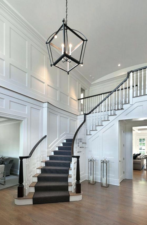 Most Recently Released Stairway Chandeliers – Futuresharp With Regard To Stairway Chandeliers (View 4 of 10)