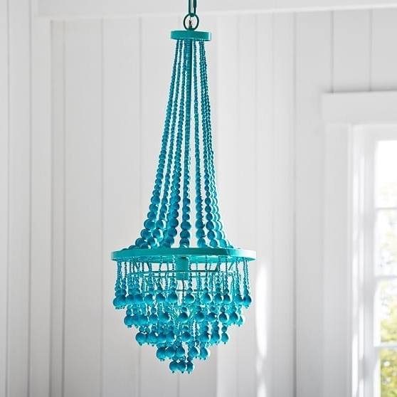 Most Recently Released Turquoise Bedroom Chandeliers Intended For Junk Gypsy Beaded Chandelier (View 8 of 10)