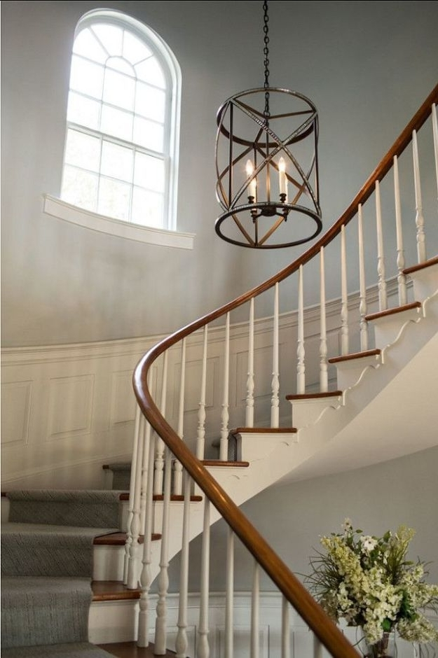 Most Up To Date 17 Best Ideas About Foyer Chandelier On Pinterest Entryway Pertaining To Stairway Chandeliers (View 5 of 10)
