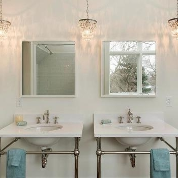 Most Up To Date Bathrooms White Tole Chandeliers Design Ideas Intended For Chandeliers For Bathrooms (View 9 of 10)
