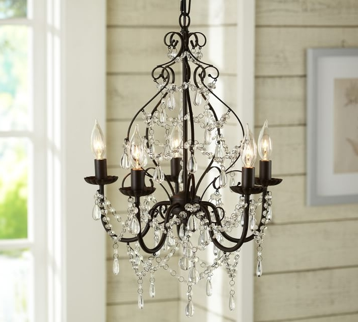 Most Up To Date Bronze And Crystal Chandeliers Regarding Paige Crystal Chandelier (View 3 of 10)