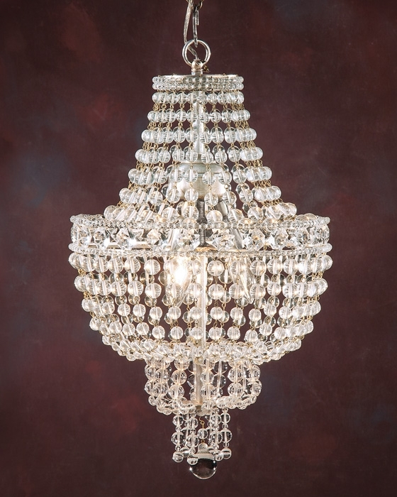 Most Up To Date Chandelier And Small Crystal Chandelier Pertaining To Mini Crystal Chandeliers (View 7 of 10)