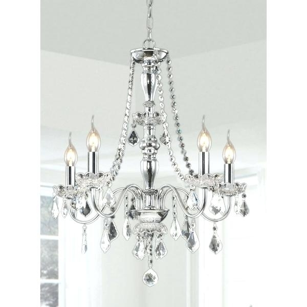 Most Up To Date Crystal And Chrome Chandelier Plus 3 Light Crystal Chrome Chandelier With Regard To Crystal And Chrome Chandeliers (View 5 of 10)
