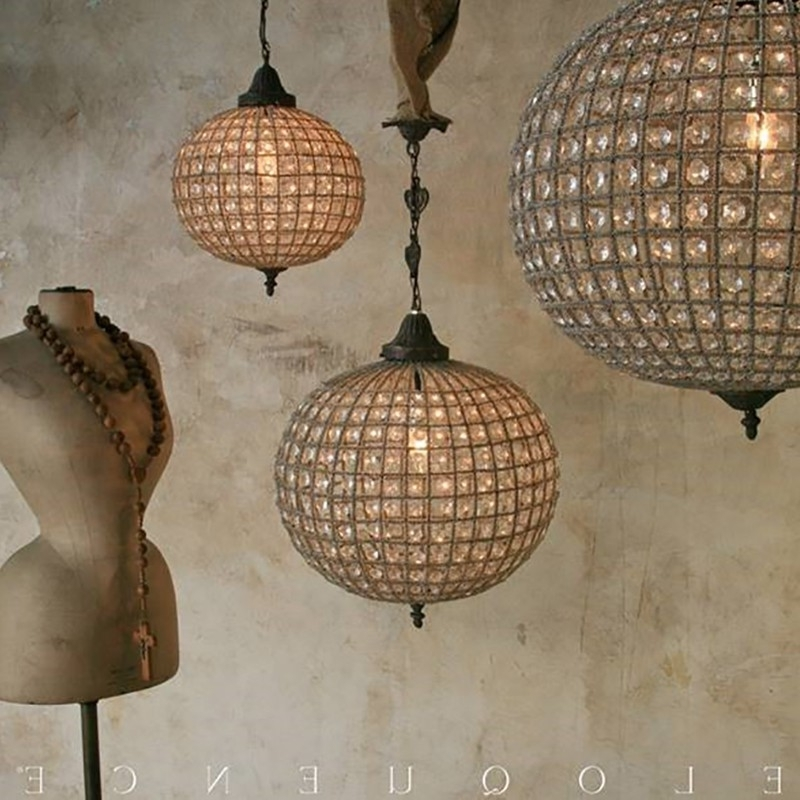 Most Up To Date Eloquence Globe Chandelier Inside Eloquence® Reproduction Globe Chandelier (View 3 of 10)