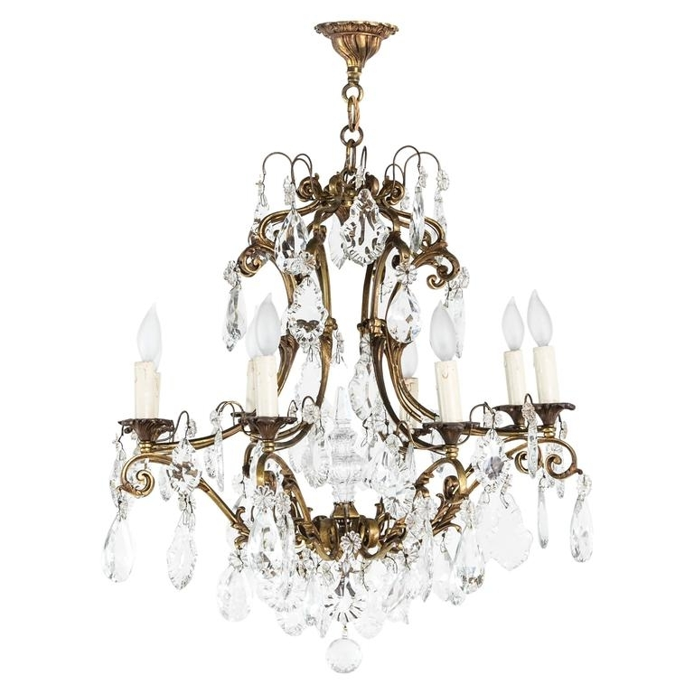 Featured Photo of Large Bronze Chandelier