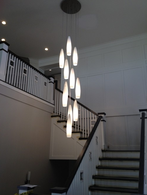 Featured Photo of Stairway Chandelier