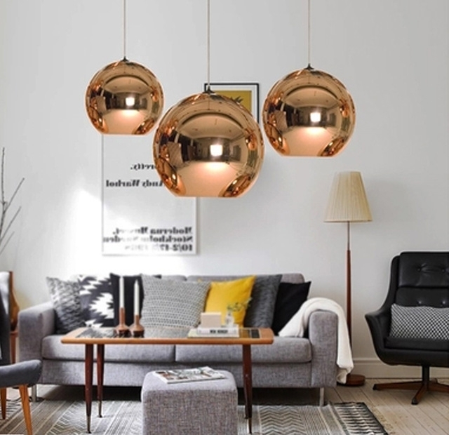 Most Up To Date Mirror Chandelier With Wonderland Modern Copper Sliver Shade Mirror Chandelier Light E (View 8 of 10)