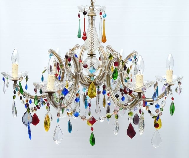 Featured Photo of Coloured Chandeliers