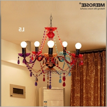 Multi Colored Gypsy Chandeliers For Well Liked Gypsy Chandelier Multicolored Kids Bedroom Chandelier Md2650 – Buy (View 8 of 10)